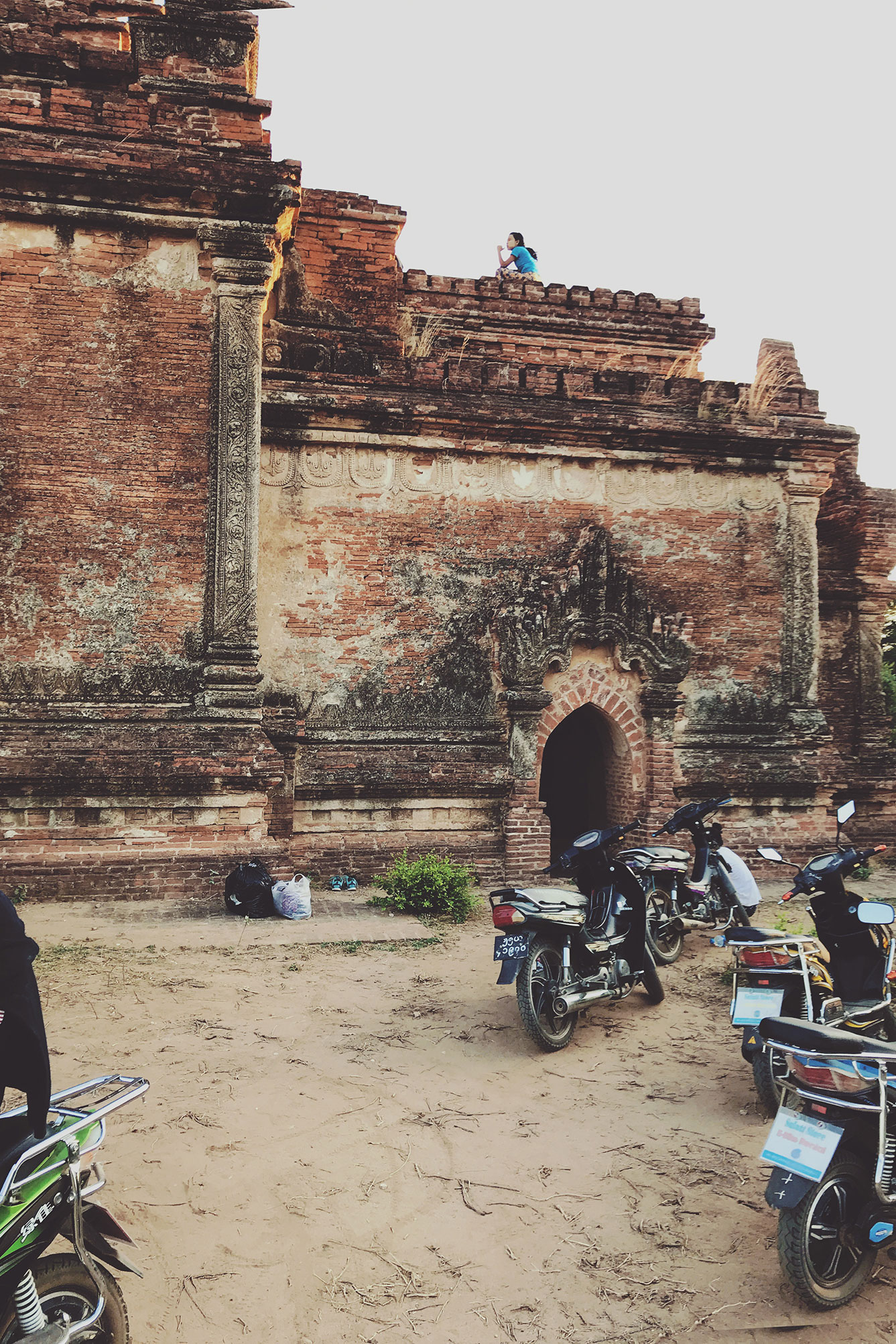 Only Temple in Bagan (Myanmar) to See Sunrise and Sunset