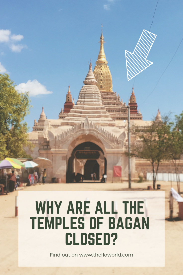 Why are all the temples of Bagan closed?