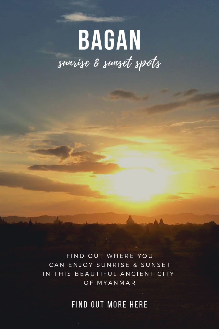 The best sunrise & sunset spots in Bagan