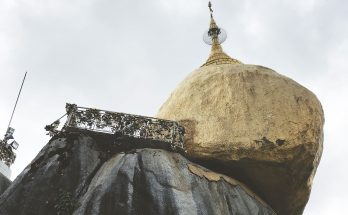 The Golden Rock of Mount Kyaiktiyo