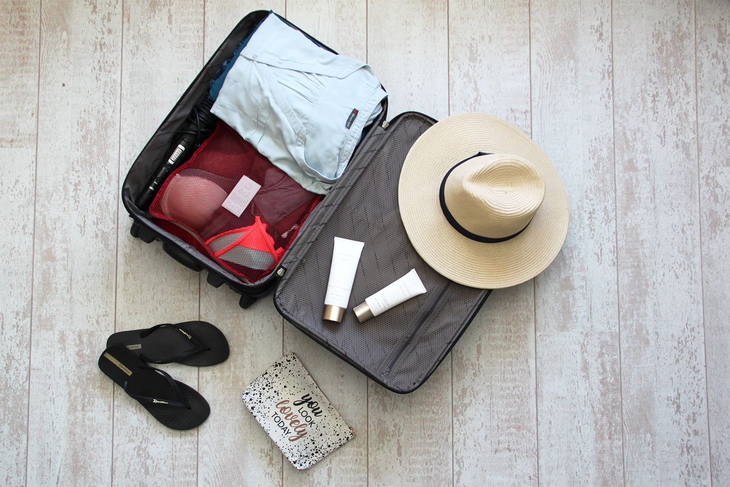 No worrying about packing your travel bag